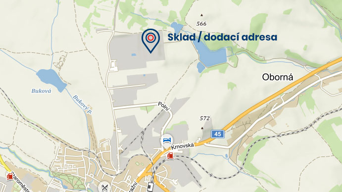 Mapa skladu SMART MetAL